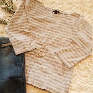 J. Crew Stripe Shirt Size M